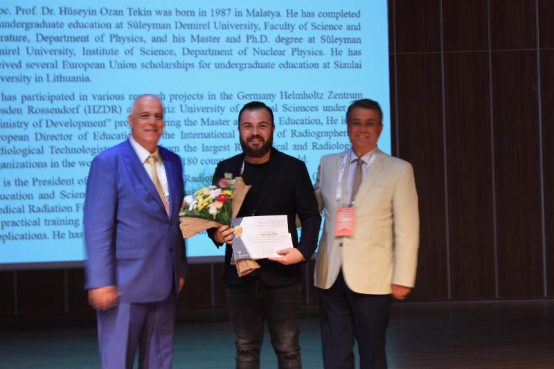 Doç. Dr. Hüseyin Ozan Tekin'e,  Genç Bilim İnsanı Ödülü