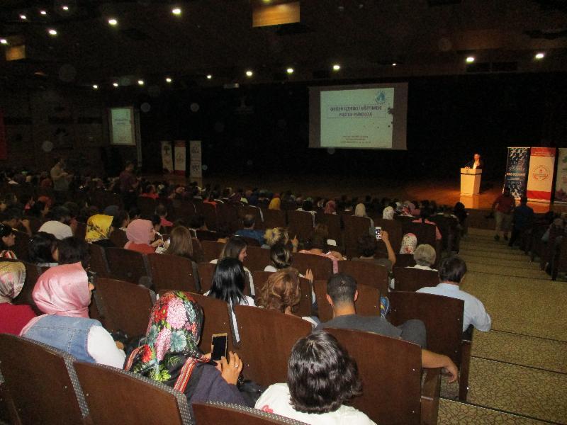 Prof. Dr. Nevzat Tarhan'dan Gaziantep'te iki konferans 5