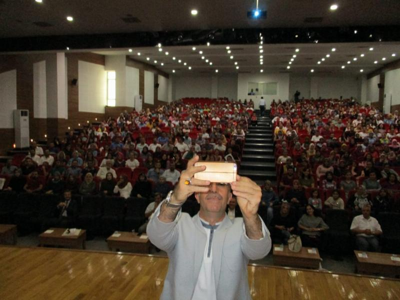 Prof. Dr. Nevzat Tarhan'dan Gaziantep'te iki konferans 2