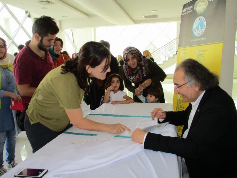 Prof. Dr. Nevzat Tarhan'dan Gaziantep'te iki konferans 6