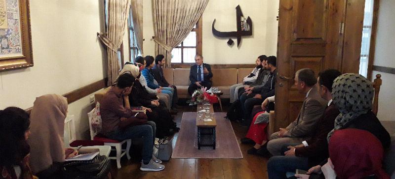 Prof. Dr. Nevzat Tarhan Samsunlularla buluştu 8