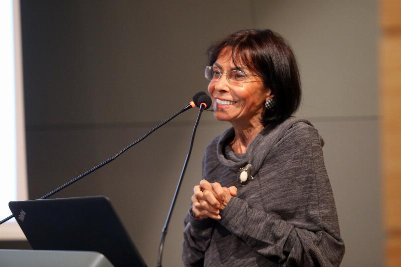 Prof. miriam cooke spoke about women saints in Islam 4