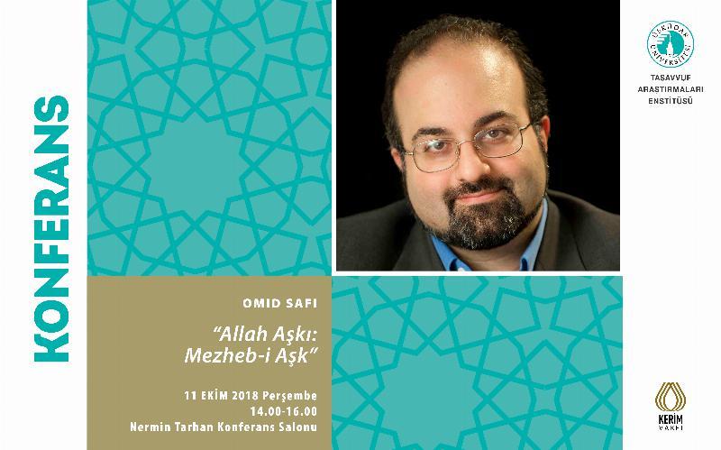 Prof. Dr. Omid Safi, Üsküdar Üniversitesi'ne geliyor