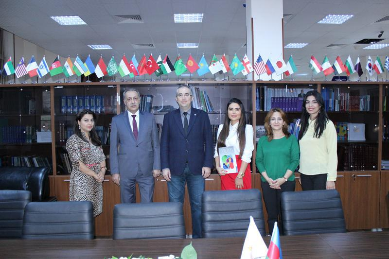 Üsküdar University visited the Knowledge Foundation in Azerbaijan
