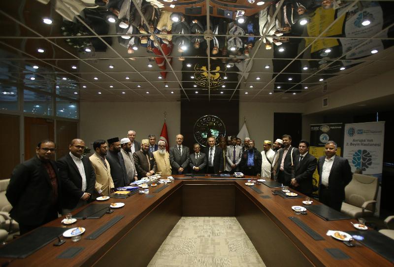 Dakka Üniversitesi heyeti Üsküdar'ı ziyaret etti