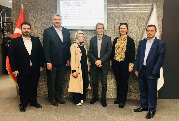UİGAD Yönetim Kurulu Üsküdar İletişim'i ziyaret etti 2