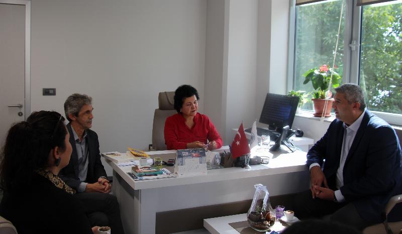 UİGAD Yönetim Kurulu Üsküdar İletişim'i ziyaret etti
