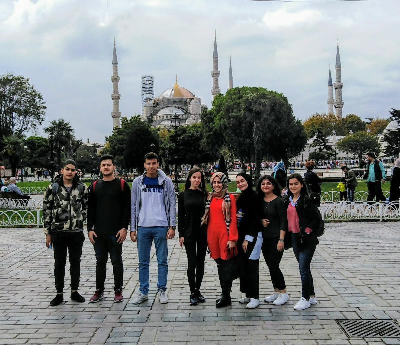 Üsküdarlı öğrenciler İstanbul'un güzelliklerini keşfetti