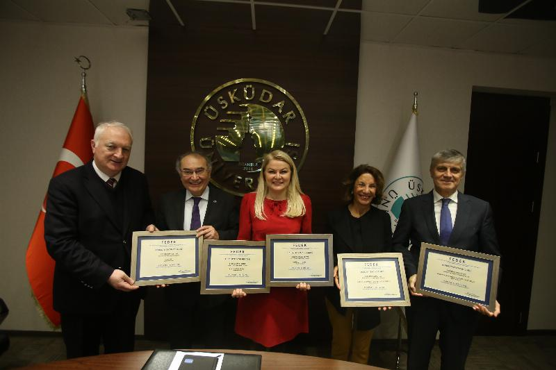 FEDEK Accreditation documents are presented