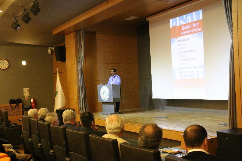Üsküdar Üniversitesi Risale-i Nur Çalışmaları Çalıştayına ev sahipliği yaptı