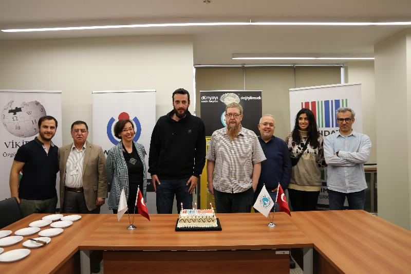Wikidata celebrated the 6. Birthday at Üsküdar University 6
