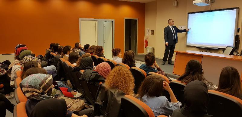 Ergoterapi Bölümü öğrencilerine uluslararası staj fırsatları anlatıldı 3