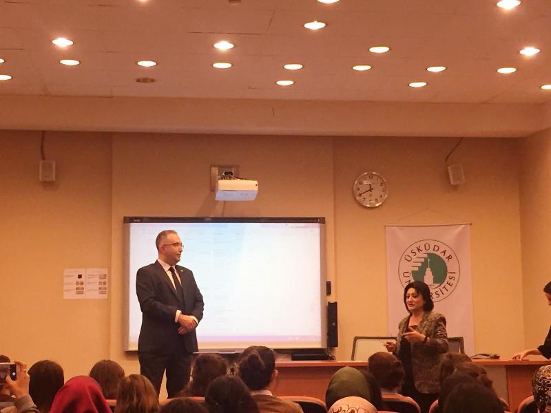 Ergoterapi Bölümü öğrencilerine uluslararası staj fırsatları anlatıldı