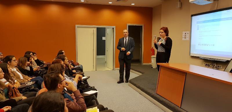 Ergoterapi Bölümü öğrencilerine uluslararası staj fırsatları anlatıldı 2