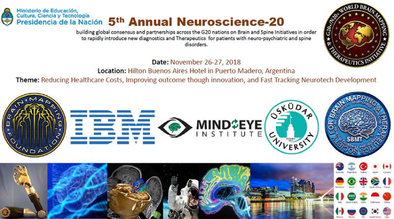 Üsküdar University Attends G20 5th Brain Initiative / Neuroscience Summit 2