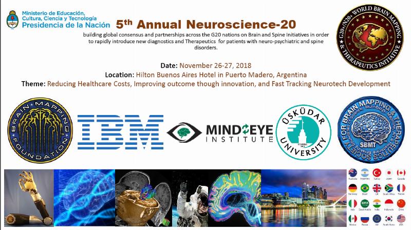 Üsküdar Üniversitesi, G20 5. Beyin Girişimi / Nörobilim Zirvesi'ne katılıyor