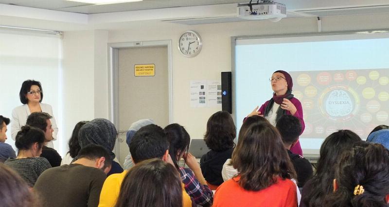 Ergoterapi bölümü seminerlerinin konuğu Dr. Yeşim Ünveren oldu