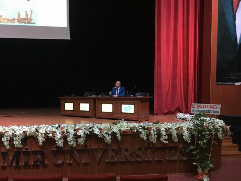 Prof. Dr. Muhsin Konuk Uluslararası Tıbbi ve Biyolojik Bilimler Kongresine katıldı