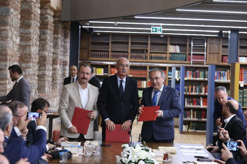"""2019 Prof. Fuat Sezgin Year"" collaborative agreement signed 5"