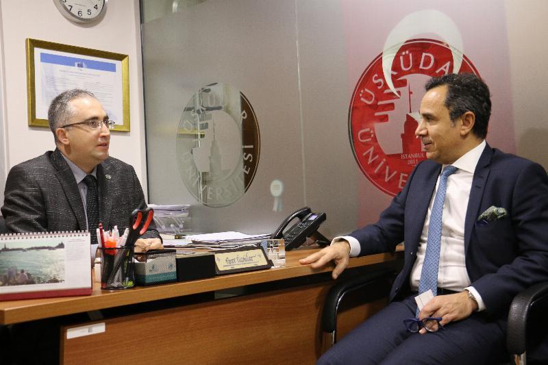 Kuveyt İstanbul Başkonsolosu Üsküdar'ı ziyaret etti