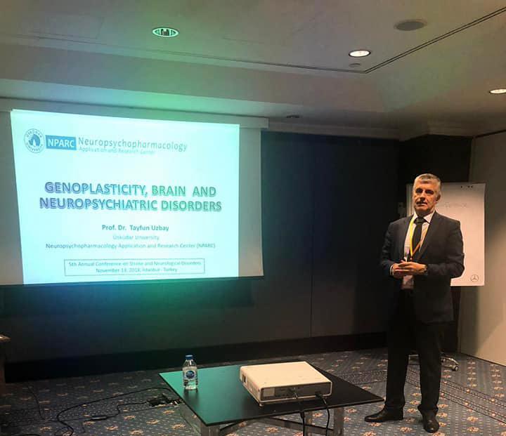 Prof. Dr. Tayfun Uzbay, İnme ve Nörolojik Bozukluklar konulu konferansa katıldı