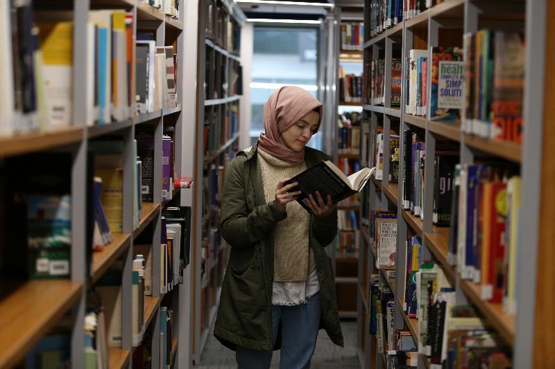 İletişim Fakültesi Namık Kemal Kütüphanesi hizmete açıldı 2