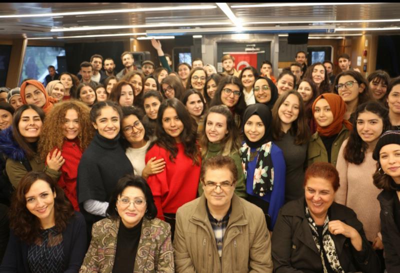Ergoterapi öğrencileri vizelerin stresini Boğaz'da attı 5