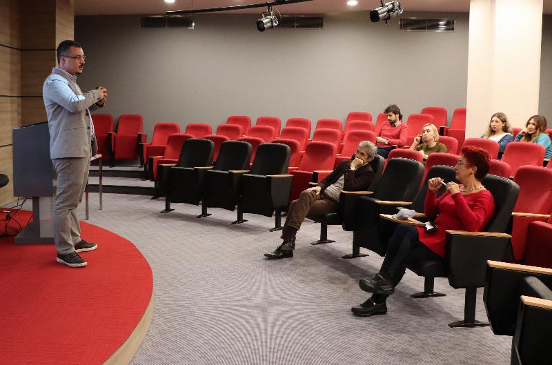 Üsküdar Üniversitesi İletişim Fakültesi Seminerleri'nin ikincisi düzenlendi