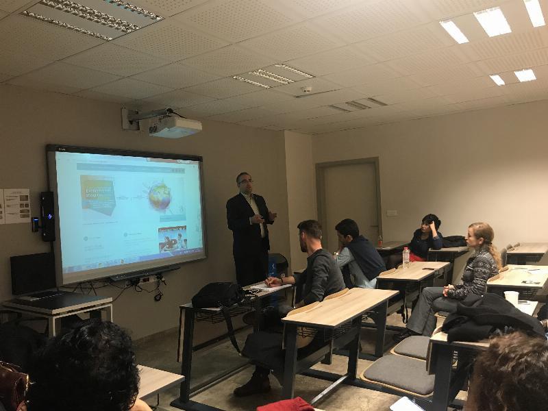 Nöropazarlama öğrencilerine Erasmus Bilgilendirme toplantısı gerçekleştirildi