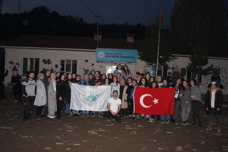 Çayyaka İlkokulu Üsküdarlı öğrencilerle yeni görünüme kavuştu 2