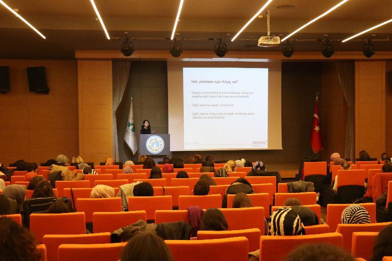 Üsküdar Üniversitesinde Vaka Yönetimi Semineri gerçekleştirildi