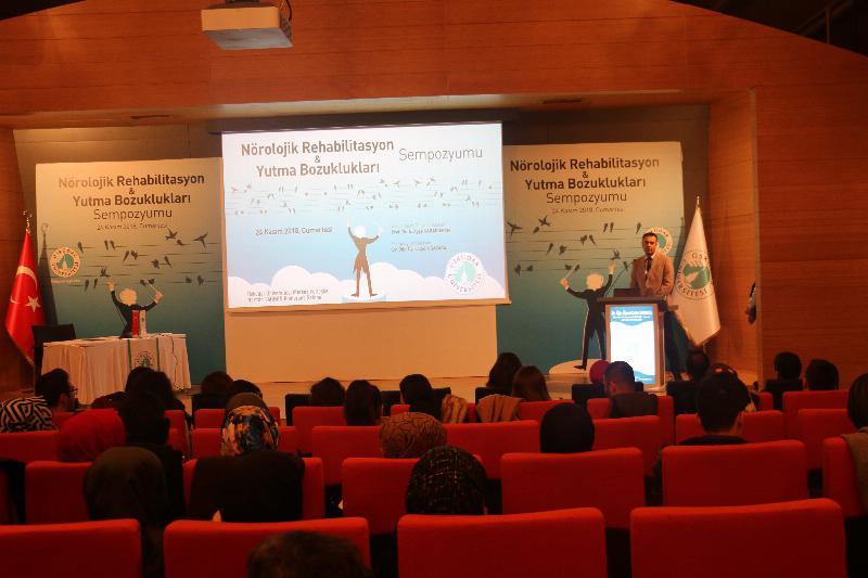 Üsküdar'da, Nörolojik Rehabilitasyon ve Yutma Bozuklukları Sempozyumu yapıldı