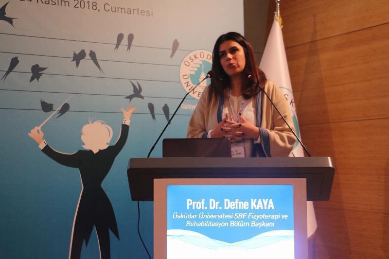 Üsküdar'da, Nörolojik Rehabilitasyon ve Yutma Bozuklukları Sempozyumu yapıldı 2