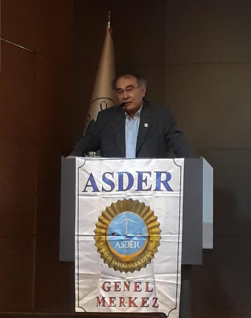 Üsküdar University President Prof. Nevzat Tarhan re-elected to be ASDER's Chairman of Board