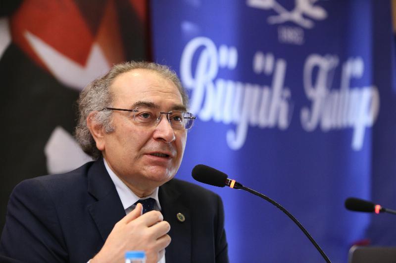 """Prof. Dr. Nevzat Tarhan Büyük Kulüp'te """"Mutluluk Bilimi"""" ni anlattı 2"""