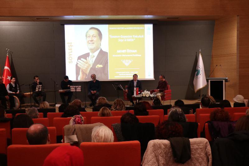 """""""İnsanın Gayesine Yolculuk"""", Üsküdar Üniversitesi'nde konuşuldu"""