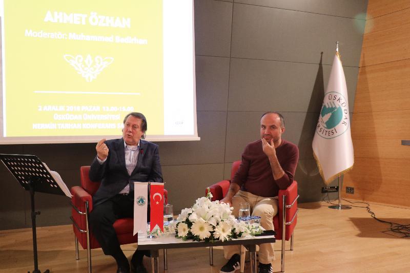 """""""İnsanın Gayesine Yolculuk"""", Üsküdar Üniversitesi'nde konuşuldu 2"""