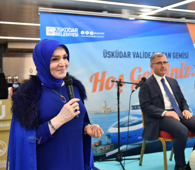 Üsküdarlı öğrenciler Üsküdar Belediye Başkanı ile buluştu 2