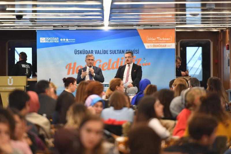 Üsküdarlı öğrenciler Üsküdar Belediye Başkanı ile buluştu 3