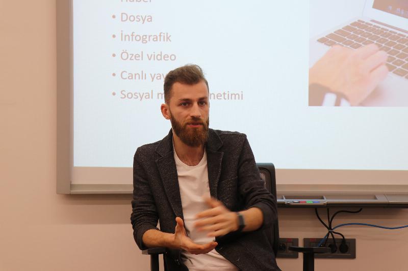 'Yeni Nesil Gazetecilik' Üsküdar Üniversitesinde konuşuldu 2