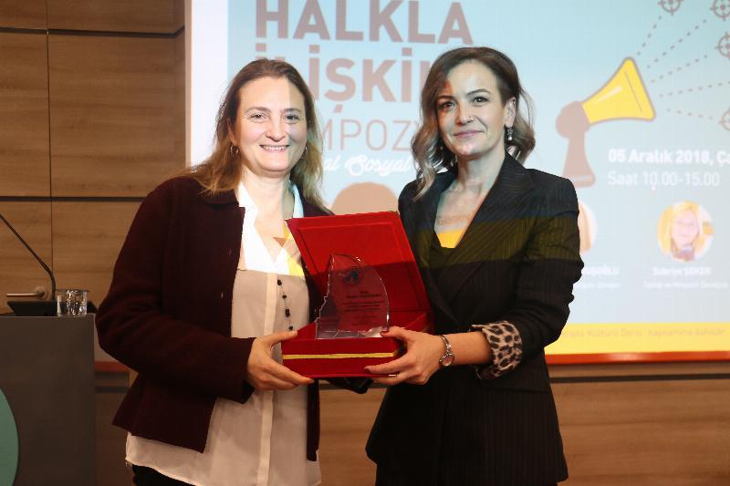 """Halkla İlişkiler Sempozyumunda """"Kurumsal Sosyal Sorumluluk"""" ele alındı 9"""