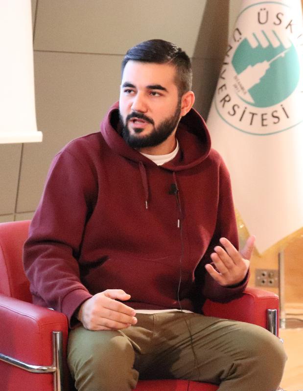 Rap sanatçısı Resul Aydemir Üsküdar Üniversitesi'nde 2