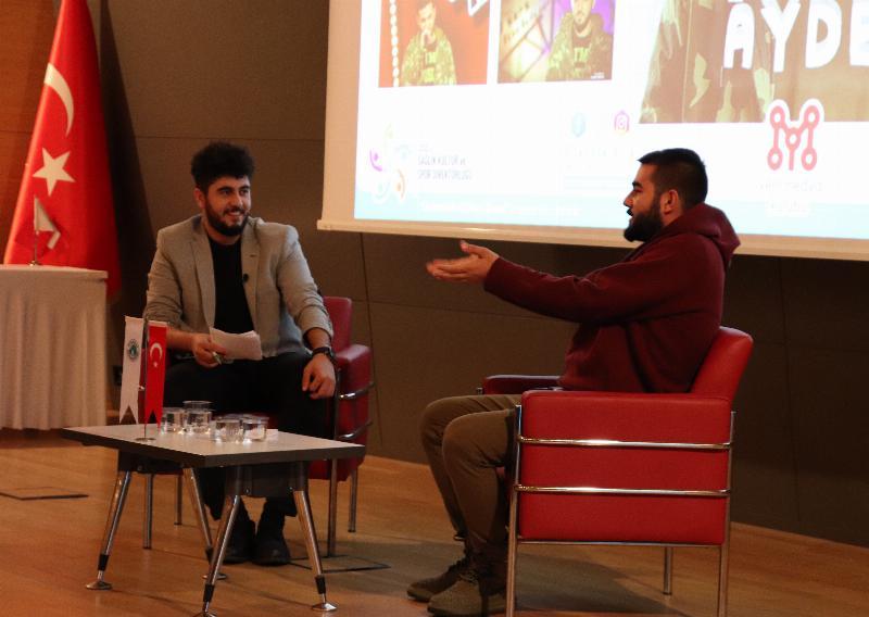 Rap sanatçısı Resul Aydemir Üsküdar Üniversitesi'nde