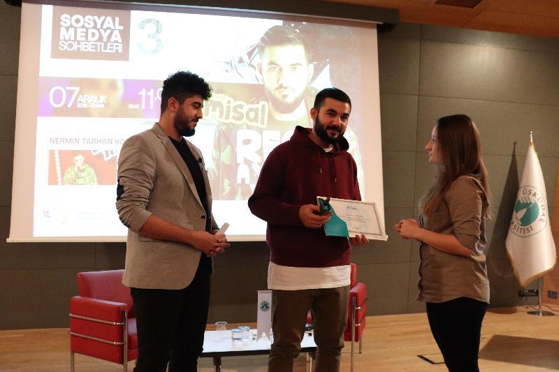 Rap sanatçısı Resul Aydemir Üsküdar Üniversitesi'nde 3