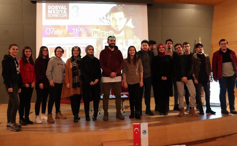 Rap sanatçısı Resul Aydemir Üsküdar Üniversitesi'nde 4