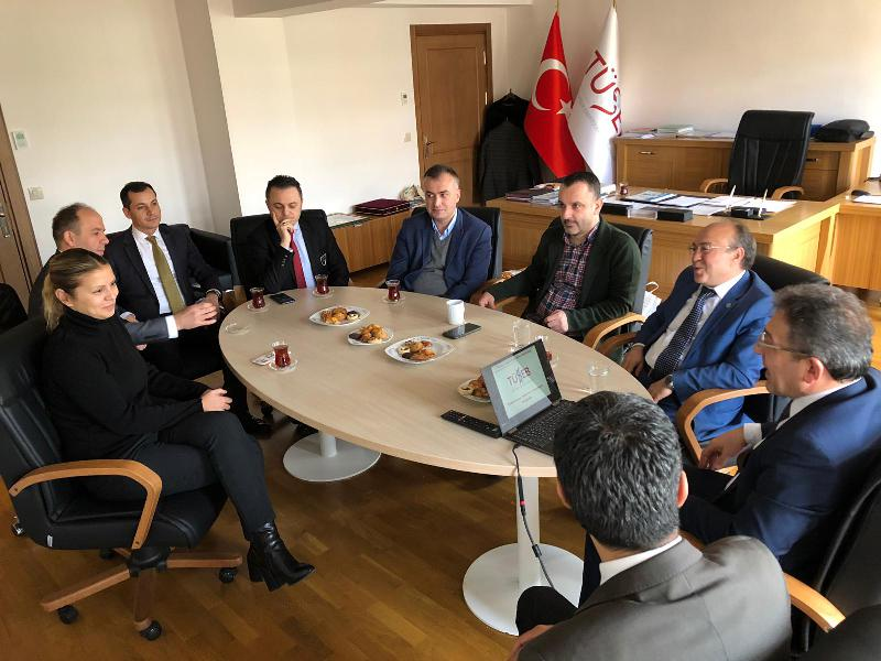 Üsküdar University visited Health Institutes of Turkey (TÜSEB)
