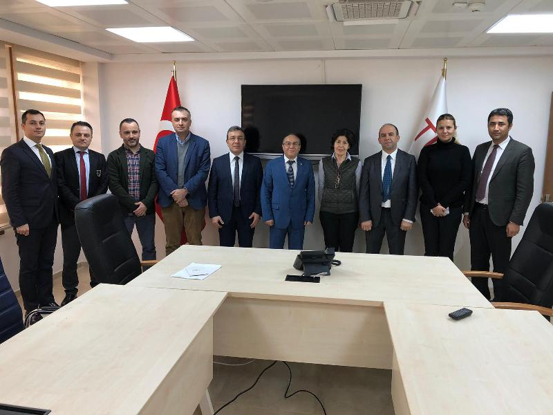 Üsküdar University visited Health Institutes of Turkey (TÜSEB) 2