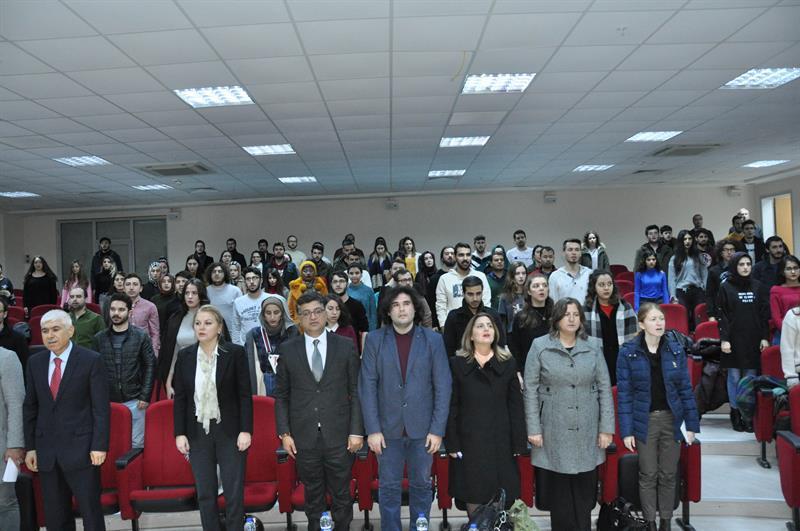 Prof. Dr. Deniz Ülke Arıboğan Yalova Üniversitesinde
