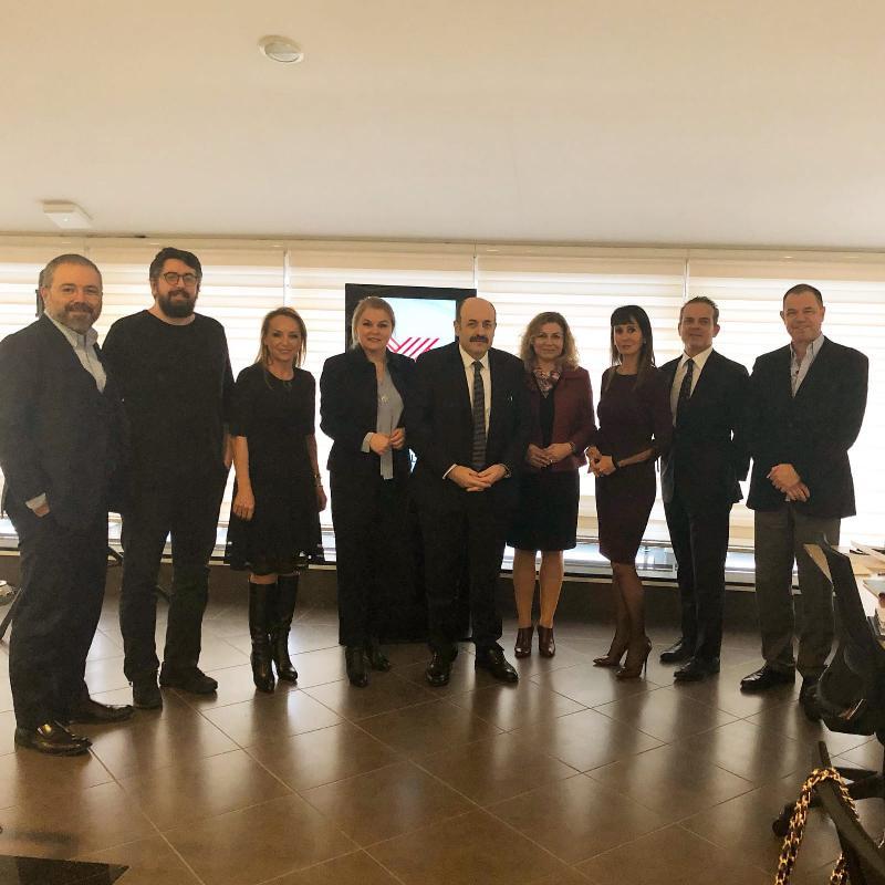 Prof. Deniz Ülke Arıboğan met with CoHE President Prof. Yekta Saraç