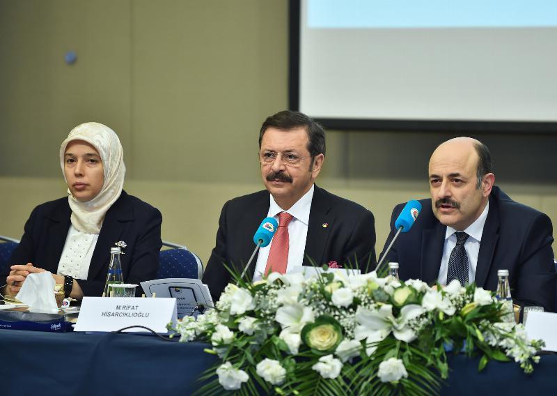 Mütevelli Heyet Başkanımız Furkan Tarhan,  TOBB Türkiye Yükseköğretim Meclis toplantısına katıldı 2